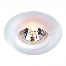 Декоративный встраиваемый неповоротный светильник в стиле модерн | 369122