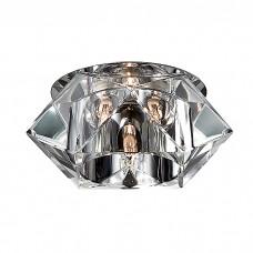 Декоративный встраиваемый неповоротный светильник в стиле модерн | 369300