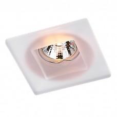 Декоративный встраиваемый неповоротный светильник в стиле модерн | 369212