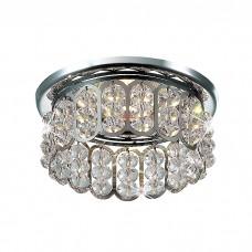 Декоративный встраиваемый неповоротный светильник в классическом стиле | 369492