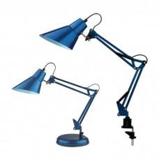 Настольная лампа для кабинета и офиса на струбцине   2133/1T