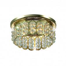 Декоративный встраиваемый неповоротный светильник в классическом стиле | 369494