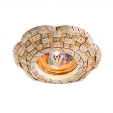 Декоративный встраиваемый неповоротный светильник в классическом стиле | 369533