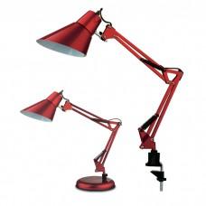 Настольная лампа для кабинета на струбцине и офиса   2132/1T