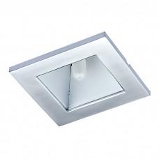 Встраиваемый неповоротный светильник с защитным матовым стеклом в стиле минимализм | 369168