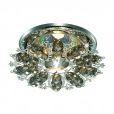 Декоративный встраиваемый неповоротный светильник в классическом стиле | 369498
