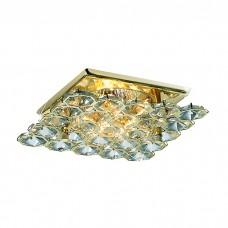 Декоративный встраиваемый неповоротный светильник в классическом стиле | 369505