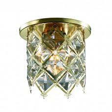Декоративный встраиваемый неповоротный светильник в классическом стиле | 369510