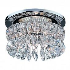 Декоративный встраиваемый неповоротный светильник в классическом стиле | 369271