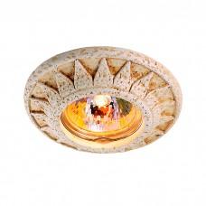 Декоративный встраиваемый неповоротный светильник в классическом стиле | 369534