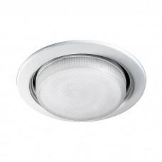 Встраиваемый светильник (энергосберегающая лампа в комплекте) в стиле минимализм | 369829