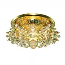 Декоративный встраиваемый неповоротный светильник в классическом стиле | 369497