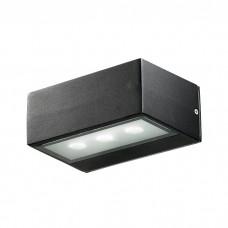 Декоративный светодиодный уличный настенный светильник в стиле модерн | 357228