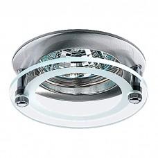 Декоративный встраиваемый неповоротный светильник в стиле минимализм | 369172