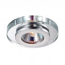 Декоративный встраиваемый неповоротный светильник в стиле модерн | 369409