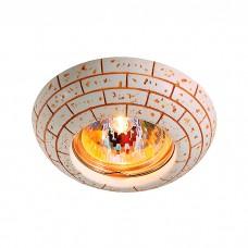 Декоративный встраиваемый неповоротный светильник в классическом стиле | 369531