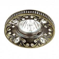 Встраиваемый декоративный светильник в стиле модерн | 370235