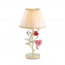 Настольная лампа в стиле флористика | 2585/1T
