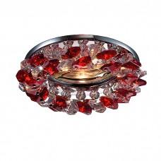Декоративный встраиваемый неповоротный светильник в классическом стиле | 369402