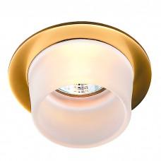 Декоративный встраиваемый неповоротный светильник в стиле минимализм | 369170